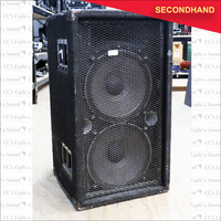 Twin JBL 15 inch and Horn Cabinet (secondhand)