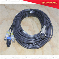 9M EP8 to 1 x Speakon & 2 x 3pin female XLR  Speaker Cable (secondhand)