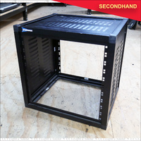 10RU Speedrack Equipment Rack with sides & top panels no lids  (secondhand)