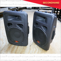 "Cinamax 12"" & Horn Passive Speaker Box x2 (secondhand)"