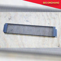 2RU Perforated Rack Panel Security Cover (secondhand)