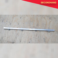 Aluminium Par Bar 25mm Square - 1380mm long (secondhand)
