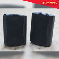 Redback C0913 Speaker with 4-inch Woofer & Tweeter 8ohm only - Pair (secondhand)