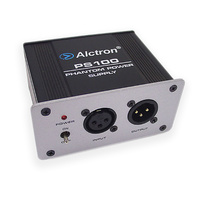 Alctron PS100 48v Phantom Power Supply with DC Adaptor