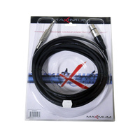 Maximum 5-metre Female 3pin XLR to 6.35mm TS Jack Plug