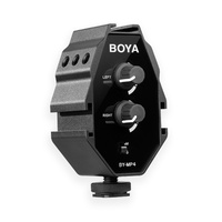 Boya MP4 Audio Adapter for Camera