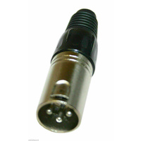 BravoPro AP1102 Male XLR 3pin Line Connector