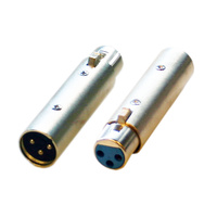 Bravo A1319 3pin Male XLR  to 3pin Female XLR