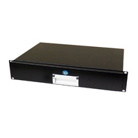 BravoPro APDF2U-300 Lockable 2RU Rack Drawer 300mm Deep