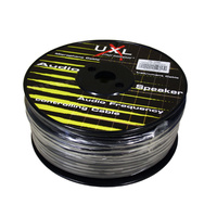 UXL 100BK 100-Metre Roll Black Balanced Microphone Cable