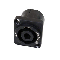 Speakon 2-pole Keyed Panel Mount Socket