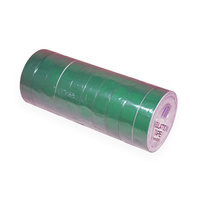 Stylus Green Insulation Tape 18mm x 20M Roll x10
