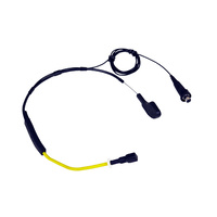 ICAN Sports Headset Microphone with TA4F - Yellow