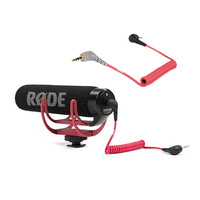 Rode VideoMic GO - On Camera Microphone with SC7 Adaptor