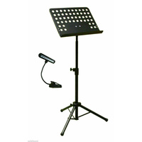 BravoPro AP3505B Music Orchestra Stand with LED Music Light