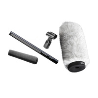 Sennheiser MKH416-P48 Broadcast Shotgun Microphone and Boya PI80 Fluffy