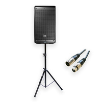 JBL EON610 10-inch Powered Speaker with 1.8M Stand and 9M Cable