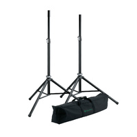 Konig & Meyer 21449 Aluminium Speaker Stands x2 and Carry Bag