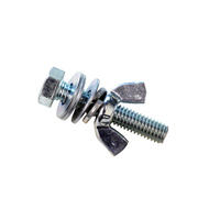 LHBS2 2-inch x 3/8-inch Nut, Bolt & Washer Set