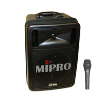 Mipro MA505PA Battery Portable PA system with Bluetooth and Dynamic Wired Microphone