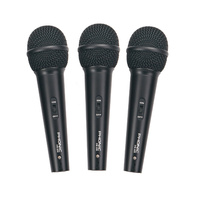 Phonic DM680 Dynamic Vocal Microphone 3-pack