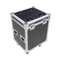 BravoPro Road Case with wheels to suit 6 x RATstands Jazz music stands