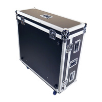 BravoPro Mixer Case for Midas 32 with wheels with dog box