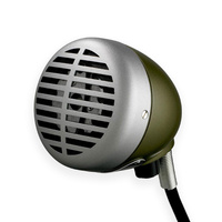 Shure 520DX Green Bullet Classic Harmonica Microphone