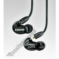 Shure SE215 Earphones Black