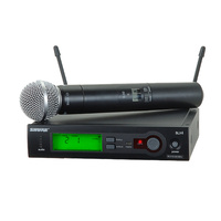 Shure SLX Wireless Microphone System with SM58 Handheld Microphone