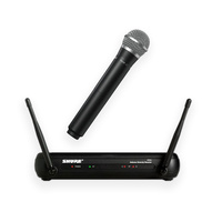 Shure SVX24PG58 Wireless Microphone System with PG58 Handheld Microphone