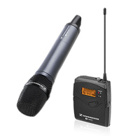 Sennheiser W135P-G3 Portable Battery Wireless Microphone System with 835 Handheld